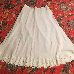 Vintage CACHAREL embroidered slip S